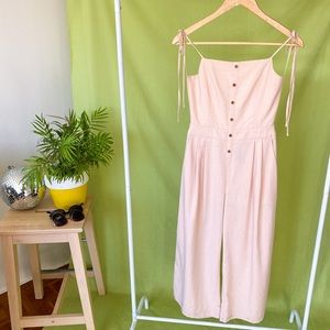 ALICE IN THE EVE PINK BACKLESS JUMPSUIT